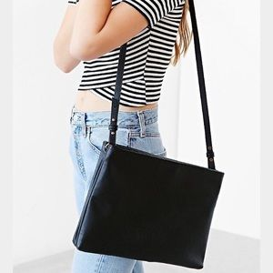 UO double zip crossbody bag